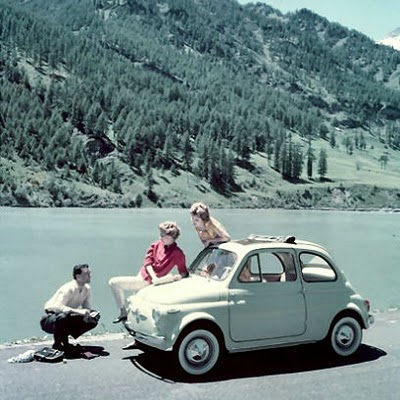 vintage fiat 500 the pessimiss. Black Bedroom Furniture Sets. Home Design Ideas