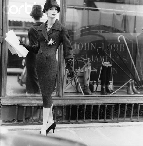 vintage Christian Dior ads