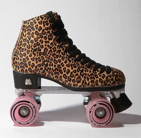 Leopard Rollerskates The Pessimiss